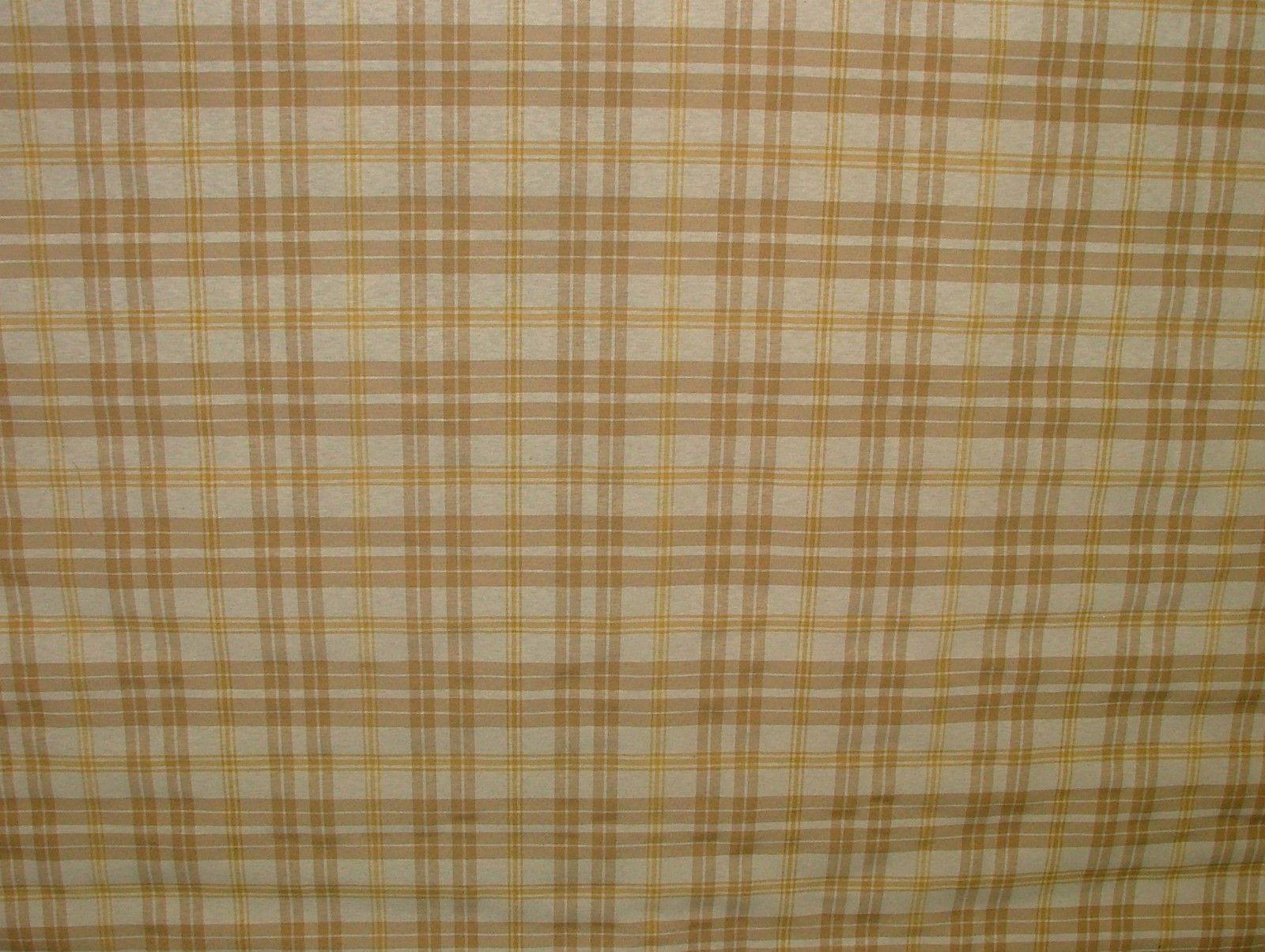 Prestigious Textiles Beige Gold Cream Check Curtain Soft
